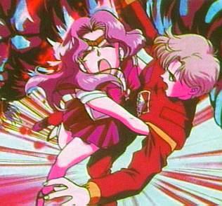 Neptune saving Haruka