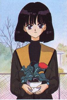 Hotaru with plant