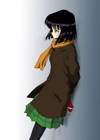 Hotaru leaning
