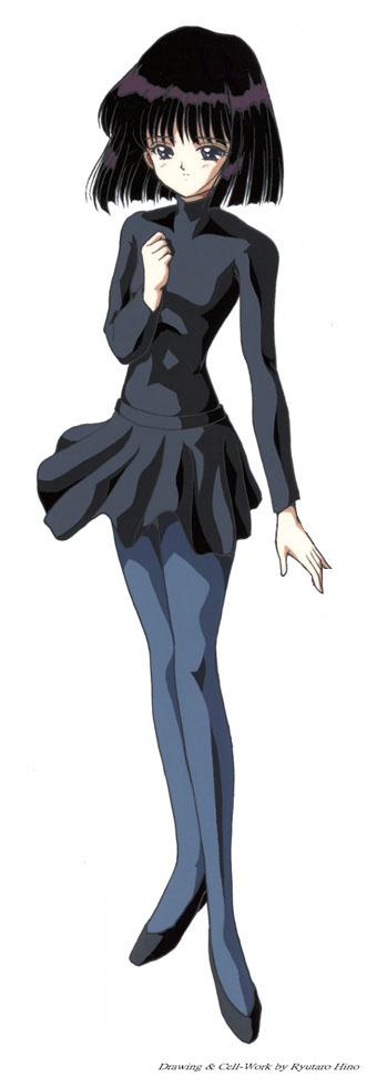 Hotaru all in black