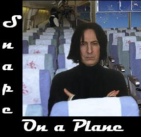 Snape on a Plane!