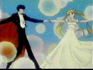 Princess and Prince dancing in the Moon Kingdom