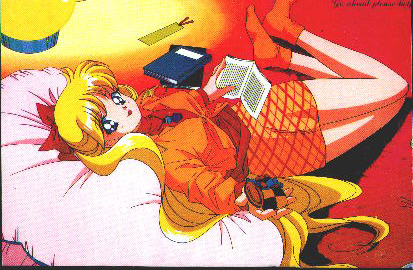 Minako relaxing